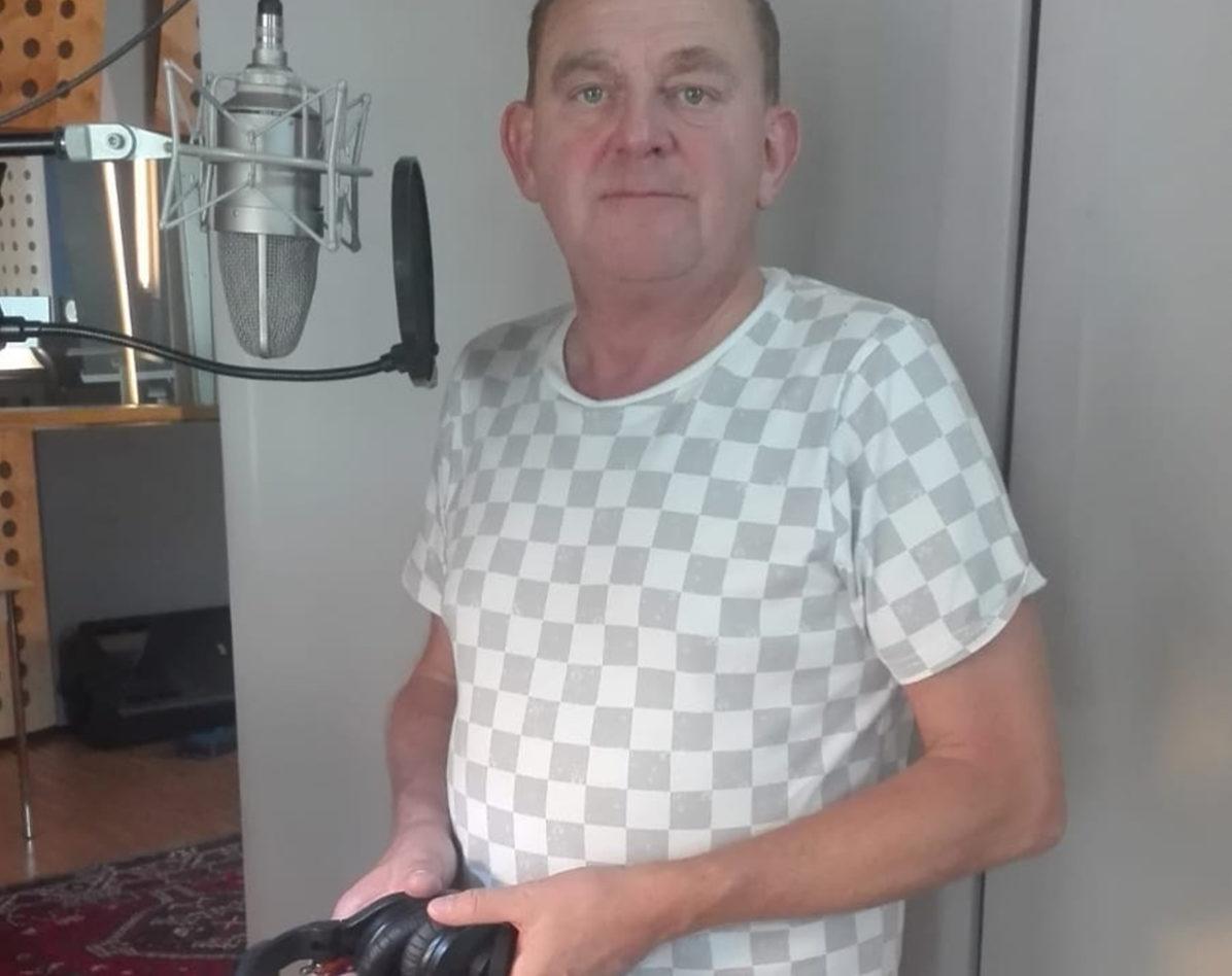 Martin Zauner im Tonstudio