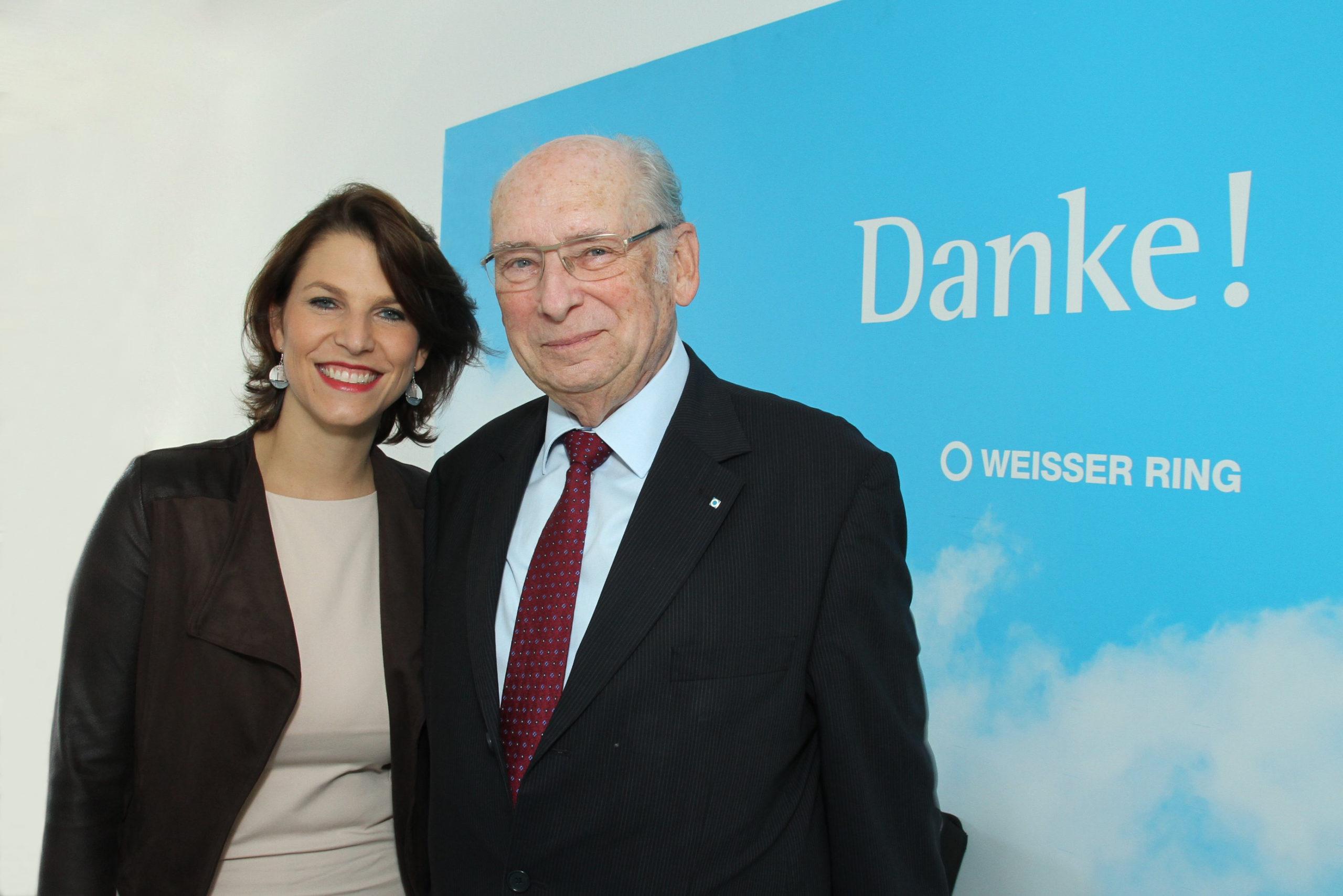 Staatssekretärin Karoline Edtstadler und Präsident Udo Jesionek / Foto Willibald Haslinger