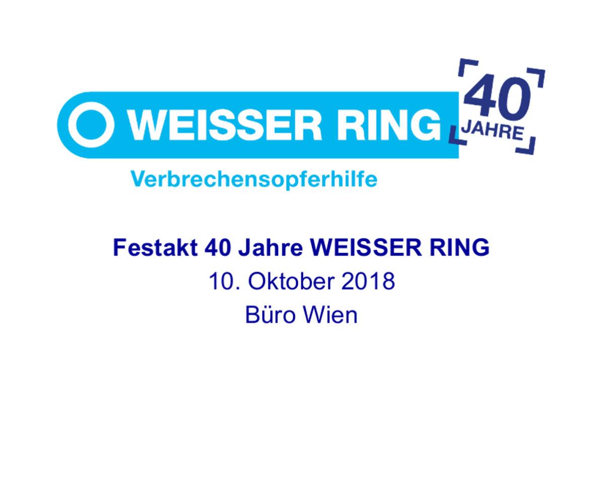Wien Einladung Festakt