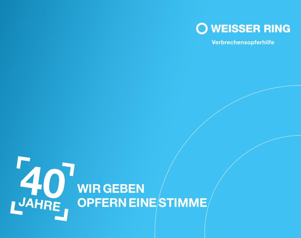 40Jahre Weisser Ring Festschrift WEB