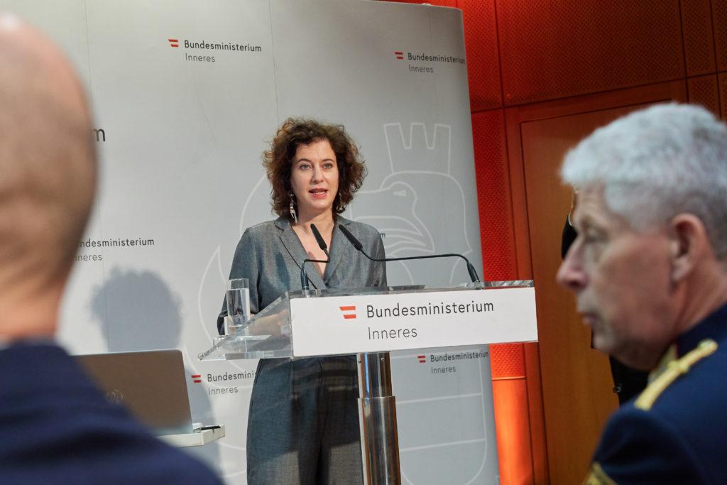 Copyright: BMI / Alexander TUMA, 22.02.2019 Wien,  Dina NACHBAUR, Tag der Kriminalitätsopfer 2019 Weisser Ring