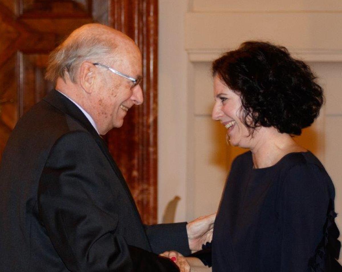 Udo Jesionek und Dina Nachbaur, cy Stren