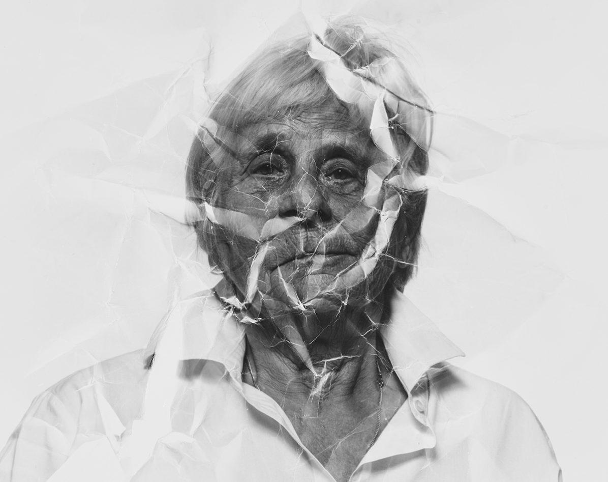 Verbrechen hinterlassen Spuren - Seniorin - Kampagne Herbst 2020