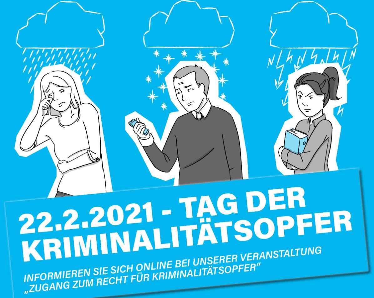Tag der Kriminalitätsopfer 2021